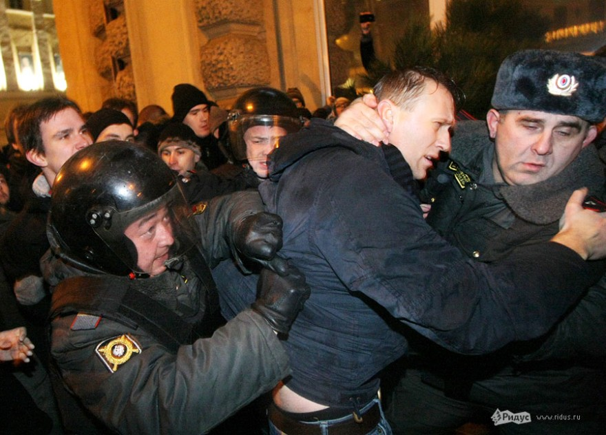 Navalnin pidätys