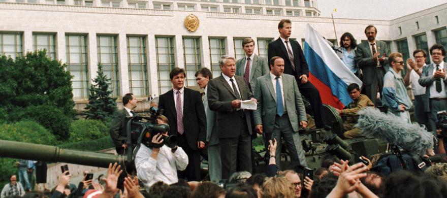 Moskovan elokuun 1991 vallankaappaus