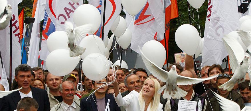 Venäjän opposition täytyy vaihtaa taktiikkaa